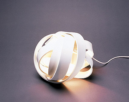 Its heat resistant properties make it ideal for situations where it may be subject to temperature changes - like this light fitting