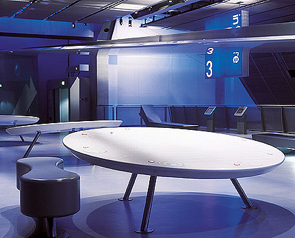 The durability of Corian makes it ideal for restaurant/Cafe and bar use