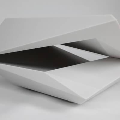 Corian Table prototype produced for PDU Ltd.