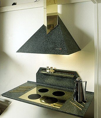 The non-porous nature of Corian makes it a hygienic material for use in the kitchen
