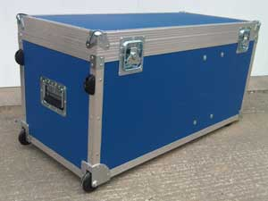 Example of one of our Standard Flight Cases for you interactives