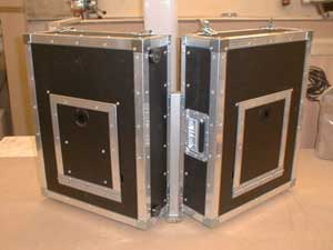 Example of one of our Bespoke Flight Cases for you interactives